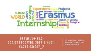 Presentazione genitori Erasmus
