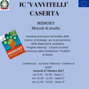 Locandina Progetto Memory (1)
