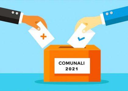 Miniatura per l'articolo intitolato:Elezioni amministrative del 3 e 4 ottobre ed eventuale ballottagio del 17 e 18 ottobre 2021