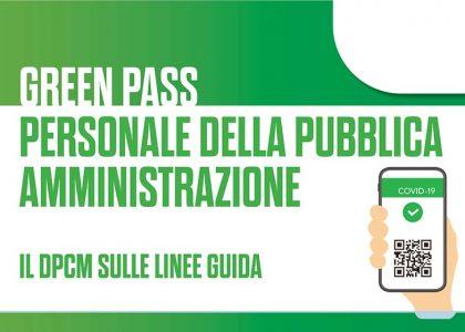 Miniatura per l'articolo intitolato:Linee guida per la verifica del possesso della Certificazione Verde GREEN PASS